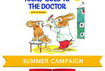 Summer Campaign 2014 Nicky Goes To The Doctor / Reach Out and Read-Alabama is launching its fifth-annual summer campaign, Read Together and Keep Your Family Healthy, with Richard Scarry's Nicky Goes To The Doctor