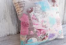 ~Cultral themed cushion project~ / I've chosen to do a cushion based on Paris!