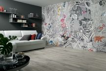 AVA - WALLPAPER Collection / AVA Wallpaper - WALLPAPER Collection - Made in Italy #wall #paper