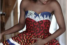 robe africaine / Robe