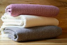 Cozy Blankets / Nothing beats the chill like our handmade blankets from Turkey.
