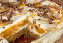 Butterscotch cream cheese tart