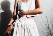 WHITE TOTAL LOOK❤