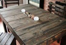Τραπέζια Από Παλέτες