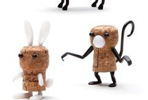 Cork animals