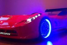 Özel Üretim Araba karyola Modelleri / Özel Üretim Arabalı yatak modelleri