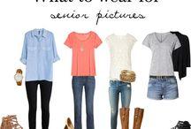 Senior Portrait Styling and Wardrobe