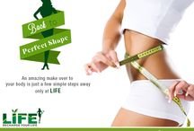 Weight Managment / Comprehensive weight management at Life Slimming & Cosmetic Clinic includes customized programs for weight gain, shedding unhealthy fat, body shaping and body slimming.