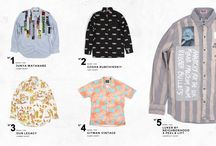 PRINTED SHIRTS / Five of the best graphic shirts so far this season...