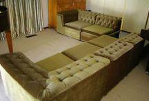 Loungeroom / Create a warm and unusual retro loungeroom