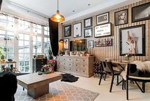 A small apartment for those who like a bafonic decoration