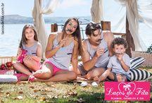 Laços de Fita para toda a Família / Linha de Pijamas completa para toda a família. O conforto que você merece!