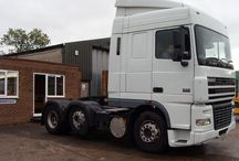 T DAF TRUCK 95XF / Trucks of the Netherlands brand DAF,95 XF range series.