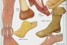 Sapatos século XVI
