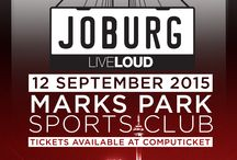 Jo'burg LIVE LOUD / What's your ultimate guide for a day festival? On September 12th 2015 we'll be throwing the biggest Spring concert in SA at Mark's Park! Request to join this board through private Pinterest message (don't forget to include your email address!) and post your outfit ideas, your favourite artists at #JHBLIVELOUD, your fave drinks - whatever you think of! 5 LUCKY Pinners will win a tickets to this awesome day in the Jozi sunshine!