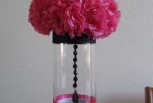 inexpensive centerpieces / by Joanne Garza