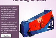 Vibrating screen manufacturers