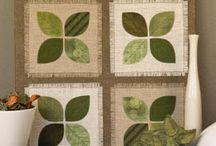 green Quilt - grün