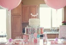 Pink/Purple PARTY Ideas / by Tami Slagill
