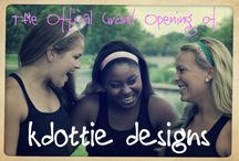 KDOTTIE DESIGNS / Check out our online store at: http://www.kdottiedesigns.com  We make and carry stylish headbands, hair ties, and jewelry. We will also start carrying clothing, vintage finds, children's items and more!