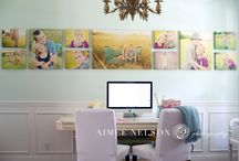 Wall art ideas / Great ideas for showing off your wedding piccies!