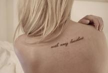 Tattoo Art / by Terra Daniels