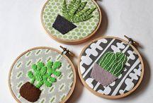 Hoop Art Embroidery - Hímzés / Hoop Art Embroidery Hímzés