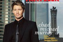 2013 February/March 2013 / Chad Michael Murray The Hollywood actor takes time out of his busy filming schedule to talk to Premier Traveler about his own travel style.