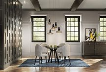 Wainscot Moulding / Adding Wainscot to your walls is a perfect way to add dimension and texture – making way for a great decor feature for any room