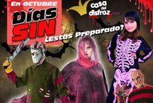 Halloween 2014 / promociones y ofertas que podrás disfrutar al máximo para ahorrar unos €€€. http://casadeldisfraz.com