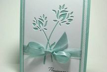 Cards...Floral Diecuts