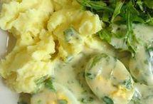 obiad jajka w sosie musztardowym
