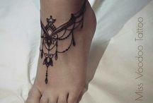 voet tatoo