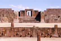 """All About Tiahuanaco (Tiwanaku) / According to some experts, this site might be the oldest city in the world, and some even speculate that this could be the legendary city of Atlantis.  I'm going along with this theory and using Tiwanaku as the setting in my Urban Fantasy series, RHUNA, in which Tiwanaku is called """"Atlan"""" (as in Atlantis)  http://www.rhunafantasyboks.com"""
