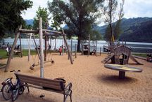 Spielplätze - München und Umgebung / Hier findet ihr eine tolle Übersicht an Spielplätzen in München und drum herum. Spielplätze direkt am See oder auf der Alm. Alles ist dabei. Ein Riesenspaß für Kinder.