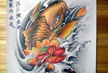 Tatuaggi carpa koi