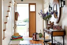 Entry way / Decorating ideas for entry way, foyer, small entrance