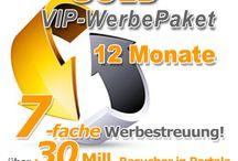 GOLD  WerbePaket / InternetWerbung, Promotion & Marketing