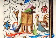strange animals in manuscripts