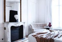 Gilt Mirrors / Interior design, antiques, French, mirrors, gold,gilt
