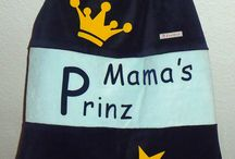 Prinzen und Prinzessinnen / Fußsack Pucksack Schlafsack Strampelsack Kirschkind