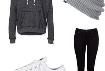 Winter lazy outfit / Swag