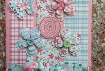 Kaarten handmade / Eigen gemaakte kaarten
