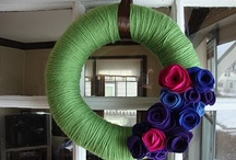 Wreath Ideas / by Michelle P