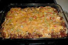 Casseroles  / Different kinds of casseroles