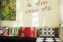 Interior de casas de suburbio no Brasil