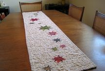 Fabricaholic-Table Runners / by Gail