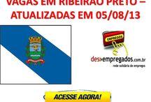 EMPREGOS RIBEIRÃO PRETO / Empregos em Ribeirão Preto. Acesse: www.desempregados.com.br/group/2