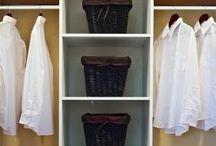 Closet redo / by Wendy Stivers