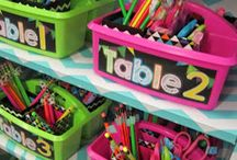 Storage and Organization / Storage and organization solutions for classroom teachers.